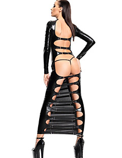 billige Nattøy til damer-Dame Sexy Skjorter og kjoler / Ultrasexy Nattøy - Ensfarget