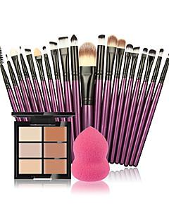 Concealer/kontur Pulver Puff/Skønhedsblender Makeupbørster Våd Ansigt Blegende Fugt Concealer Naturlig Åndbart Hvidte