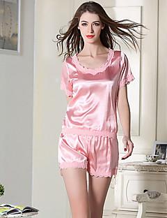 Pyjama - Eis-Seide