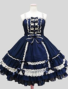 cheap Lolita Dresses-Gothic Lolita Dress Princess Women's Girls' One Piece Dress Cosplay