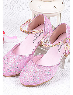 Cheap flower girl shoes online flower girl shoes for 2018 girls shoes glitter summer comfort heels sparkling glitter for silver blue pink mightylinksfo