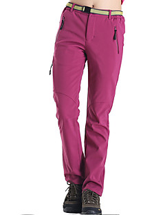 cheap Hiking Trousers & Shorts-Women's Hiking Pants Outdoor Thermal / Warm, Quick Dry, Windproof Fall / Winter Fleece, Terylene Pants / Trousers Camping / Hiking /