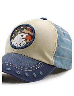 メンズ 夏 オールシーズン ヴィンテージ カジュアル コットン カラーブロック ベースボールキャップ 日よけ帽