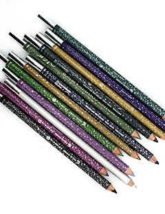 12 Colours Waterproof Makeup Eyeliner Pencil Long-Lasting Natural Eye Liner Pen And Sharpeners