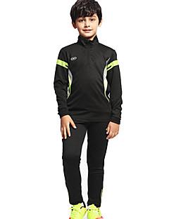 Enfant Football Survêtement Respirable Confortable Printemps Hiver Automne Sport Térylène Football