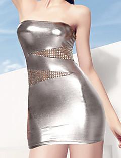 billige Nattøy til damer-Dame Sexy Skjorter og kjoler Nattøy - Ensfarget