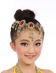 お買い得  ダンス用アクセサリー-ベリーダンス ヘッドピース 女の子 性能 チュール クリスタル/ラインストーン 帽子