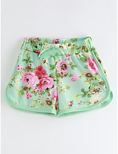 Baby Casual/Daily Floral Shorts,Cotton Summer