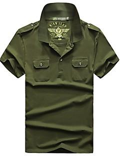 남성용 하이킹 T-셔츠 통기성 티셔츠 탑스 용 피싱 여름 M L XL XXL XXXL