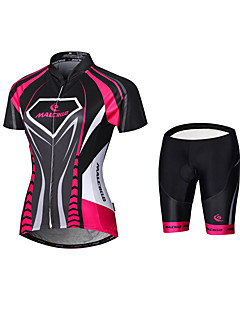 cheap Cycling Jersey & Shorts / Pants Sets-Malciklo Women's Cycling Jersey with Shorts Bike Tights Jersey Clothing Suits