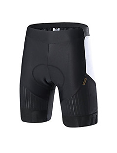 billige Sykkelbukser,Shorts,Strømpebukser, Tights-SANTIC Sykkelbukser Herre Sykkel Bunner Sykkelklær Ensfarget Klassisk Sykling/Sykkel