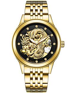 Herrn Sportuhr Militäruhr Kleideruhr Totenkopfuhr Modeuhr Simulierter Diamant Uhr Armbanduhr Armband-Uhr Mechanische Uhr Einzigartige