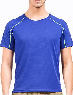 お買い得  ハイキングシャツ-男性用 女性用 ハイキング Tシャツ アウトドア 洋服セット レクリエーションサイクリング ハイキング ランニング