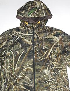 Χαμηλού Κόστους Μπλούζες φλις, πουλόβερ και γιλέκα για κυνήγι-Μπουφάν παραλλαγής για κυνήγι Ανδρικά Αδιάβροχη Μπολύζες Μακρυμάνικο για Κυνήγι