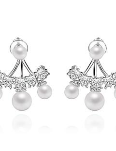 ieftine -Pentru femei Cercei Stud Bijuterii Design Unic Modă Euramerican Perle Zirconiu Aliaj Bijuterii Bijuterii Pentru Nuntă Zi de Naștere