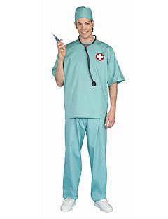 billige Halloweenkostymer-Doktorveske Cosplay Kostumer Herre Dame Barne Halloween Karneval Festival / høytid Halloween-kostymer N/A