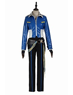cheap Videogame Cosplay-Inspired by Cosplay Cosplay Video Game Cosplay Costumes Cosplay Suits Fashion Long Sleeves Shirt Top Pants Gloves Belt