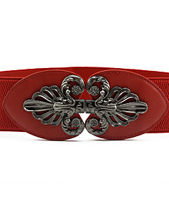 cheap Fashion Belts-Women's Vintage Cute Party Work Casual Skinny Belt - Solid, Shiny Metallic Fashion Sexy