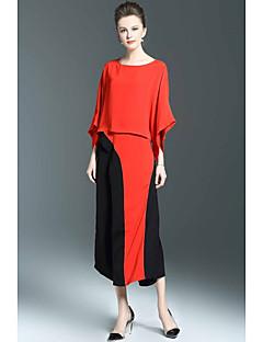 cheap SHYSLILY-SHYSLILY Women's Blouse - Color Block Pant