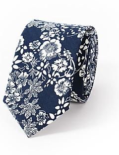 Men's Fashion Floral Printing 6cm Narrow Version Of Casual Tie