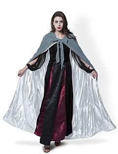 Bruxa Fantasma Vampiros Fantasias Casaco Fantasias de Cosplay Capa Vassoura de Bruxa Artigos de Halloween Festa a Fantasia Baile de