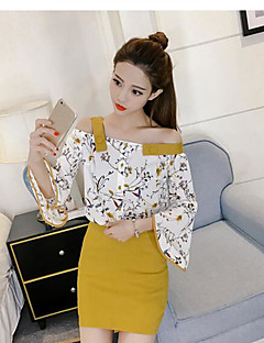 Women's Going out Daily Work Casual Daily Birthday Summer Blouse Skirt Suits