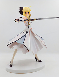 billige Anime cosplay-Anime Action Figurer Inspirert av Fate/Stay Night Saber Lily 18 CM Modell Leker Dukke