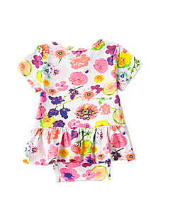 Baby Bluse Druck-Acryl Polyester-Sommer-