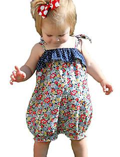 Baby Einzelteil Modisch Blumen Druck Baumwolle Terylen Sommer Kurze Hose