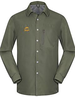 tanie Odzież turystyczna-Męskie Košile na turistiku Na wolnym powietrzu Quick Dry Ultraviolet Resistant Zdatny do noszenia Antistatic Oddychający Topy Camping &