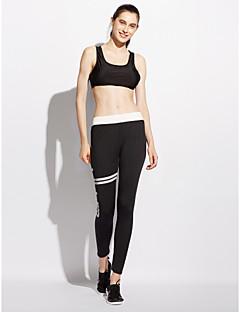 hesapli Kadın Modası ve Kıyafetleri-Kadın's Actif Normal Bel strenchy Dar Kesim Actif Pantolon, Polyester Splandeks Solid Tüm Mevsimler