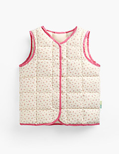 Girls' Fashion Solid Color Floral Tank & Cami,Polyester Nylon Fall Winter Sleeveless
