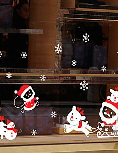 Hayvan Pencere Çıkartması,PVC/winyl Malzeme pencere Dekorasyonu