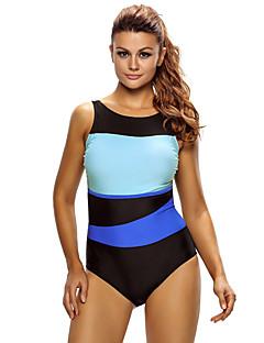 זול בגד ים ספורטיבי-בגדי ריקוד נשים בגד ים חומרים קלים, מפחית שפשופים, נמתח Tactel בגדי ים ביגוד חוף חליפת גוף שחייה / צלילה / גלישה