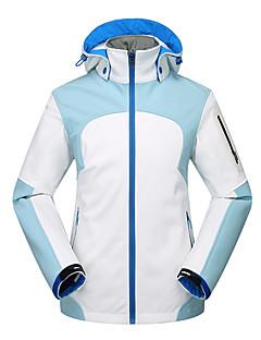 Kadın's Kurtka turystyczna Softshell Sıcak Tutma Rüzgar Geçirmez Giyilebilir Açık hava Üstler için Çalışma Balıkçılık Yürüyüş Sonbahar S