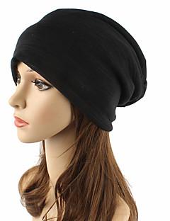 Χαμηλού Κόστους Fashionably Warm-Γιούνισεξ Μονόχρωμο Καλύμματα Κεφαλής / Κομψό & Μοντέρνο / Πλεκτά Βαμβάκι Αγνό Χρώμα - Με ραφές / Ριχτό / Καπελίνα / Χαριτωμένο / Φθινόπωρο / Χειμώνας