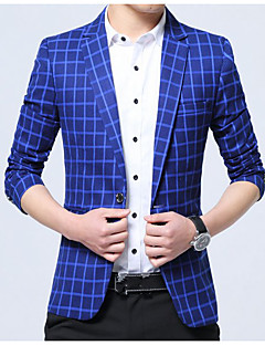 Men's Casual/Daily Casual Spring Fall Blazer