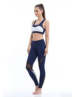 Jooga Pyöräily Sukkahousut Nopea kuivuminen Käytettävä Hengitettävyys Erittäin elastinen Erittäin elastinen Nettikauppa Naisten Jooga