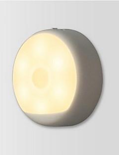 baratos Luzes de presente-Xiaomi 1 Pça. LED Night Light USB / Bateria Sensor infravermelho