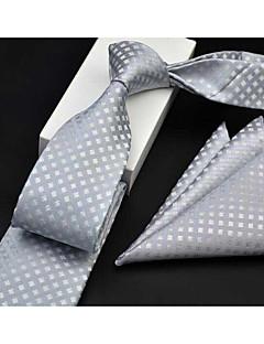 billige Slips og sløyfer-Herre Formelt Slips - Trykt mønster, Geometrisk