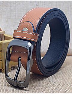 Men's Alloy Waist Belt,Blue Brown White Black Orange Work