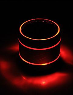 billige Bluetooth høytalere-Utendørs Innendørs Bluetooth Bluetooth 3.0 3,5 mm AUX Subwoofer Svart Rose Rød