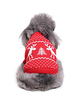Dog Sweater Dog Clothes Christmas Christmas