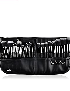 cheap Makeup Brushes-1set Makeup Brush Set Synthetic Hair Multi-tool Easy Carrying Multi Function Easy to Carry Wood Aluminium Men Men and Women Eye Nursing