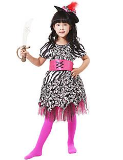 billige Halloweenkostymer-Prinsesse Prins Cosplay Cosplay Kostumer Maskerade Jente Halloween Karneval Barnas Dag Festival / høytid Halloween-kostymer Drakter Annen Vintage