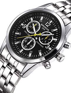 billige -Herre Sportsklokke Militærklokke Selskapsklokke Moteklokke Armbåndsur Unike kreative Watch Hverdagsklokke Japansk Quartz Vannavvisende
