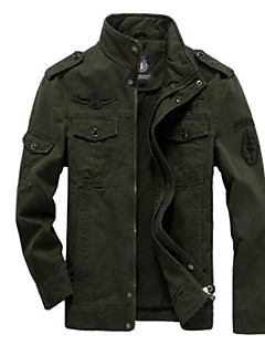Men's Casual/Daily Casual Fall Jacket