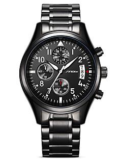 Bărbați Masculin Ceas Sport Ceas Militar  Ceas Elegant  Ceas La Modă Ceas de Mână Simulat Diamant Ceas Japoneză Quartz Calendar Rezistent