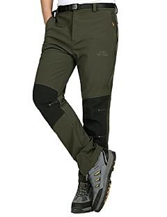 tanie Turystyczne spodnie i szorty-Męskie Turistické kalhoty Na wolnym powietrzu Wodoodporny Wiatroodporna Ultraviolet Resistant Zdatny do noszenia Oddychalność Zima Spodnie