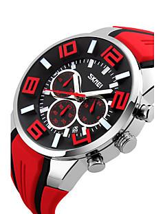 billige Modeure-Herre Digital Digital Watch Armbåndsur Smartur Sportsur Kinesisk Kalender Vandafvisende Stor urskive Silikone Bånd Vedhæng Kreativ Unikke